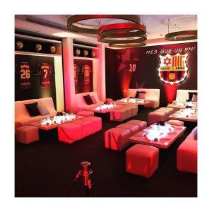 Le #PavillonRoyal aux couleurs du FC Barcelone pour la Bar Mitzvah de David ⚽️ . . .  #boisdeboulogne #paris16 #paris #evenement #lieudereception #barmitzvah #fcbarcelone #barmitzvahparty #partydecoration #footballfans #leomessi #mesqueunclub #dimanchesoir #aboutlastnight #fcbarcelonafans